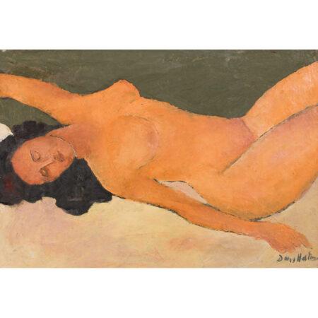 Dan Hatmanu - Nud culcat